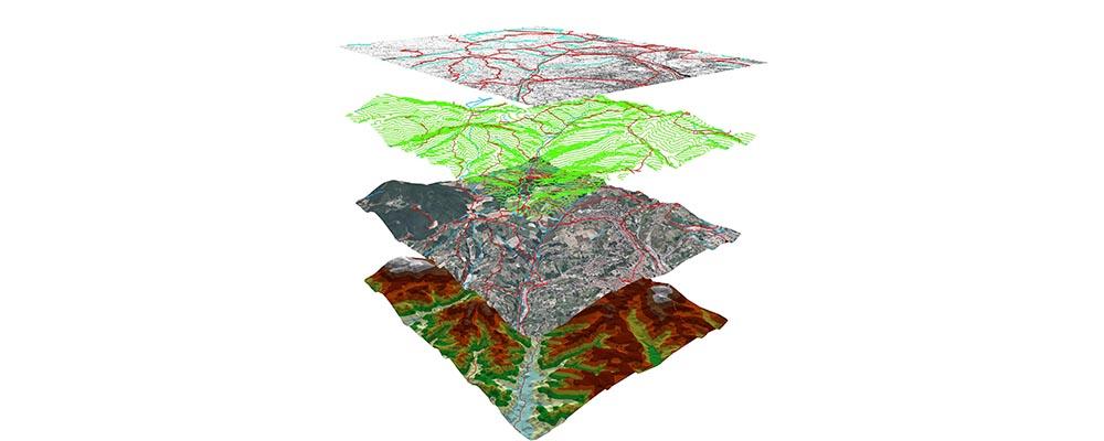 Combine Data Layers into Digital Maps
